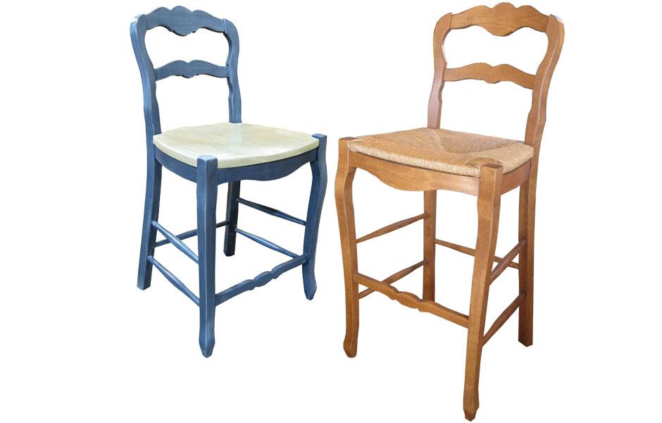 ladder back bar stools