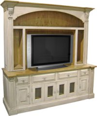 French Country TV Armoires | French Country Living Room ...
