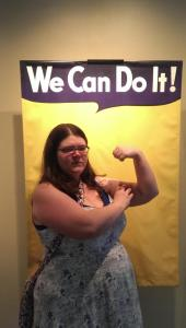 Kate McMurray as Rosie the Riveter