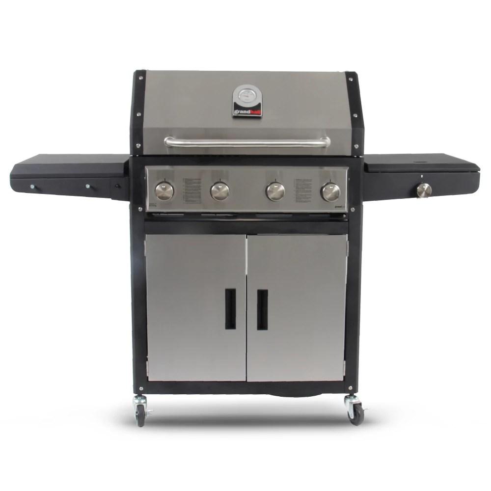 GRANDHALL Xenon 4 Burner Gas Barbecue 2020 kopen | Kater Funsport