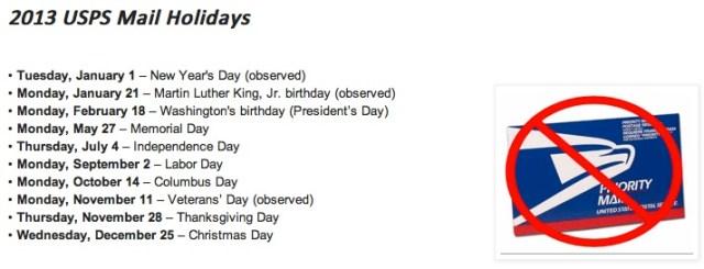 2013-Postal-Holidays