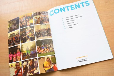 Photo of Next Chapter Report Table of Contents page