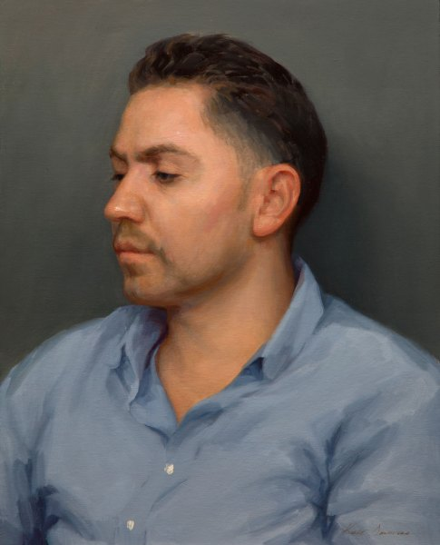Portrait of Cervando,16 x 20 inches, oil on panel