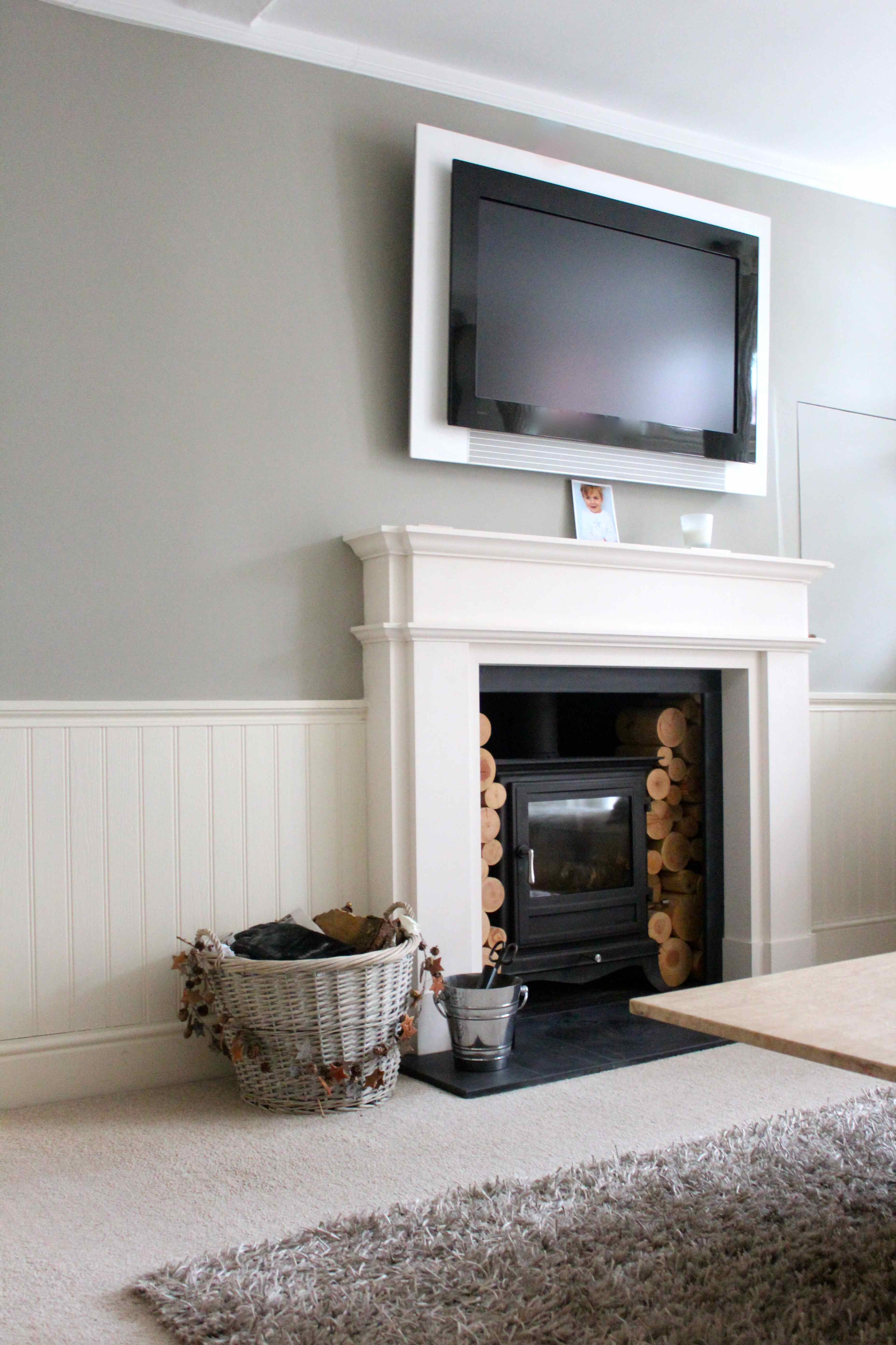 cosy living room with log burner for small 2014 january