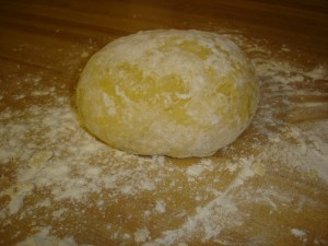 Egg Noodle Dough After Resting