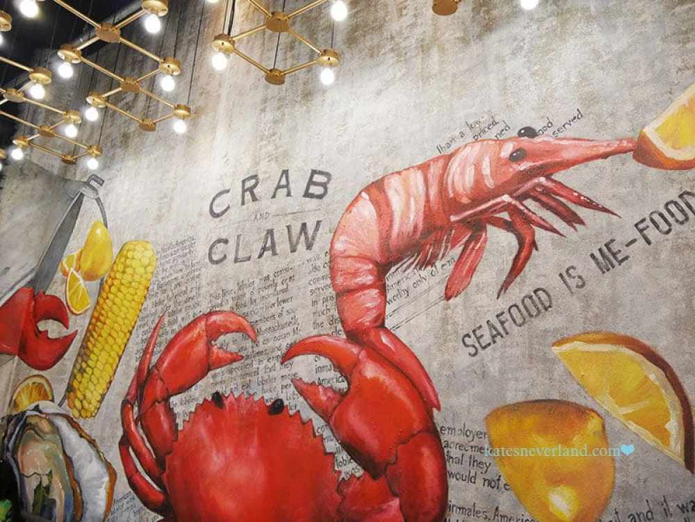 曼谷百貨商場-Helix Quartier@ Emquartier-Crab and Claw 波士頓龍蝦與生蠔海鮮專賣店
