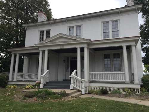 Harriet Beecher Stowe house in Cincinnati, Ohio.