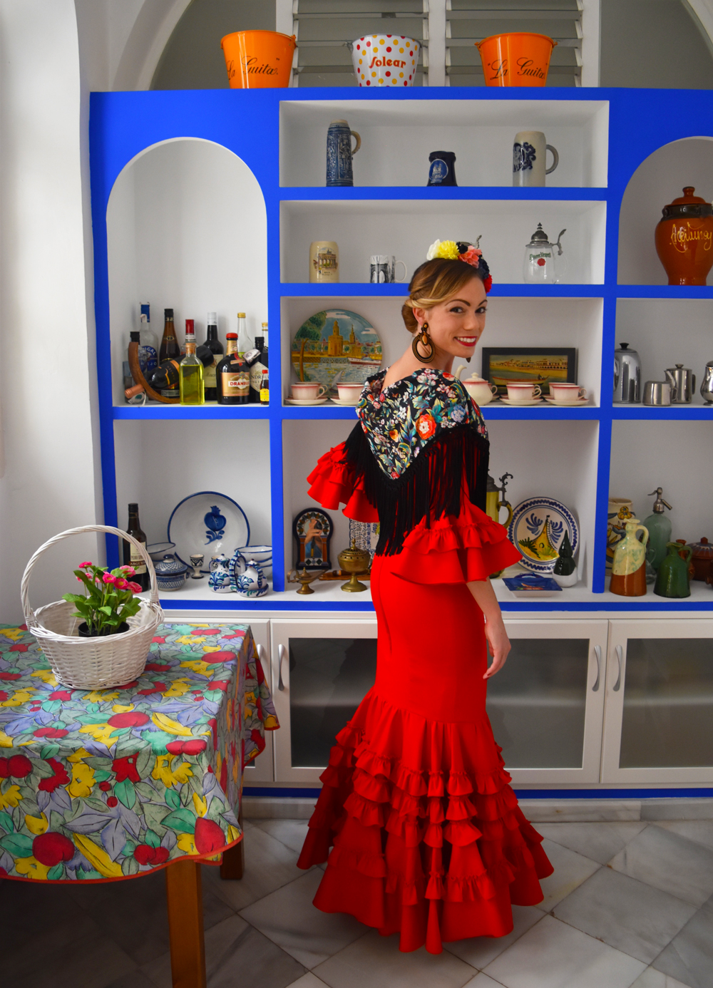 flamenco dress spain