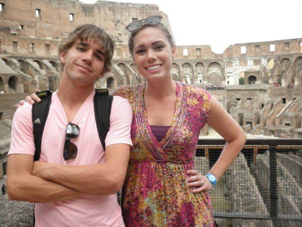 rome colosseum eurotrip