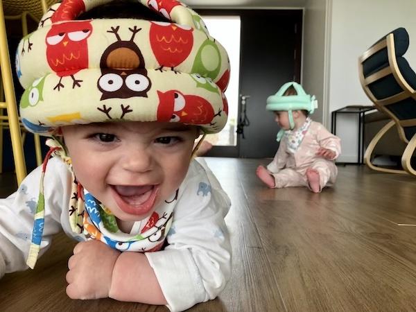 baby helmet spain