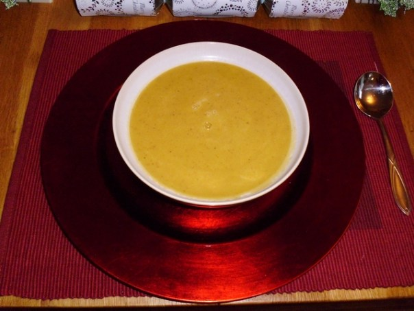 Onion and Sweet Potato Soup