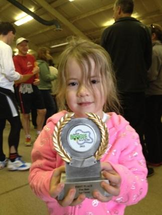 Fun Run winner