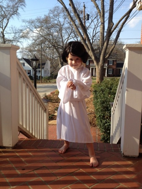 Princess Leia kid's costume