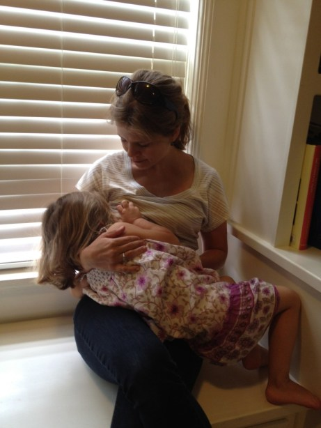 extended breastfeeding, nursing a preschooler, attachment parenting