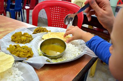 kuchnia indyjska a dziecko
