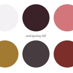 color schemeing seasons
