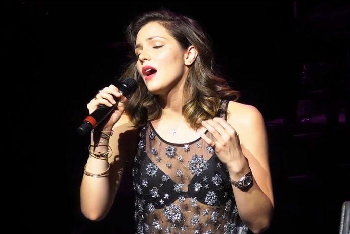 Katharine McPhee performs at the Van Wezel Performing Arts Hall in Sarasota, FL.