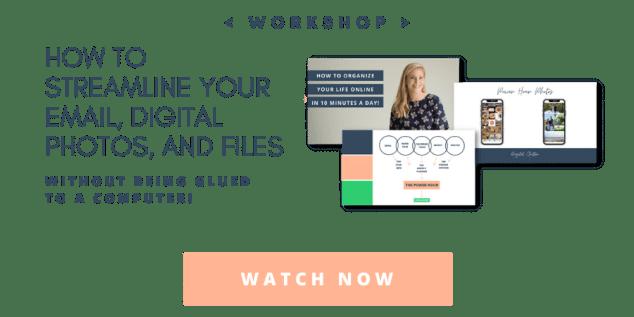 free email organizing workshop