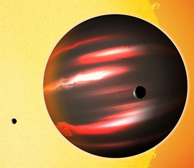 Οι επιστήμονες ανακάλυψαν τον πιο σκοτεινό πλανήτη