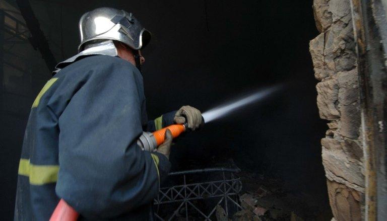 Πυρκαγιά σε αποθήκη μεταφορικής εταιρείας
