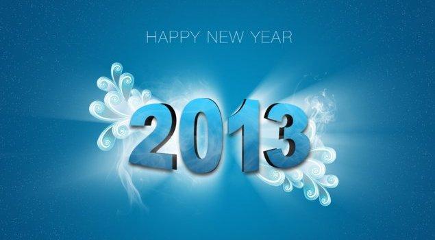 Ευτυχισμένο το 2013 !!!
