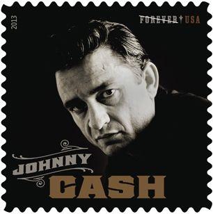 Ο Johnny Cash σε γραμματόσημο!