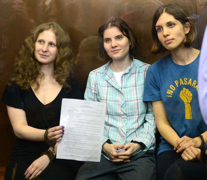 Απαγορεύτηκε το video των Pussy Riot στη Ρωσία