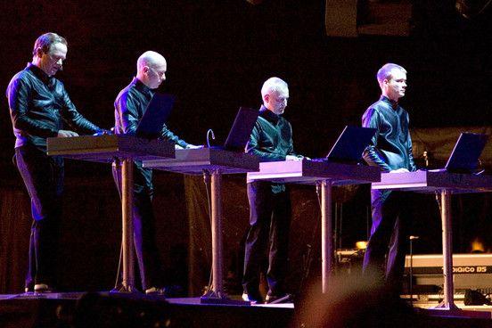 Η χθεσινή συναυλία των Kraftwerk στην Tate Modern