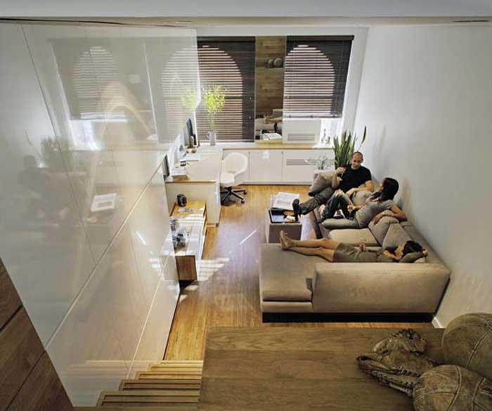 Ένα άνετο διαμέρισμα 46 τ.μ.