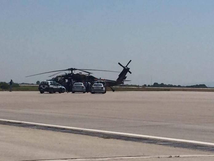 Τουρκικό ελικόπτερο με 8 άτομα προσγειώθηκε στην Αλεξανδρούπολη