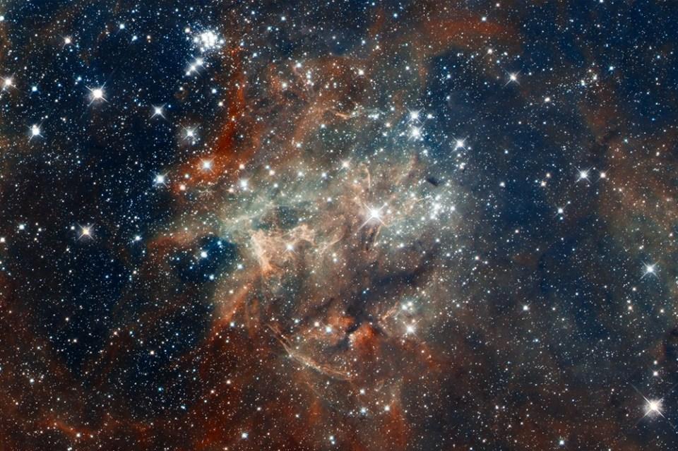 Hubble Photograph - Doradus 2060