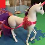 barbie horse harness, a broken toy harness