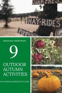 outdoor fall activities pin