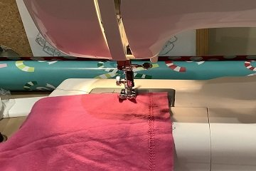 initial sewing