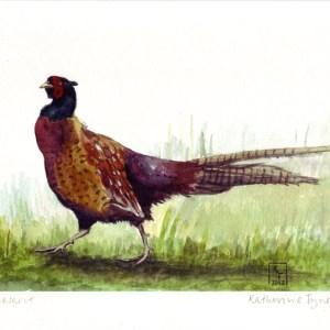 a4 pheasant print