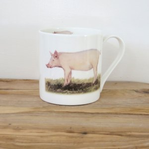 Fine Bone China Animal Mugs