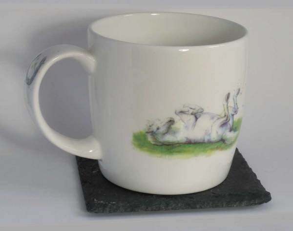 Fine bone china Hudson and Middleton, Also Available in White horse mug