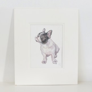 Original Watercolour Animal Wall Art