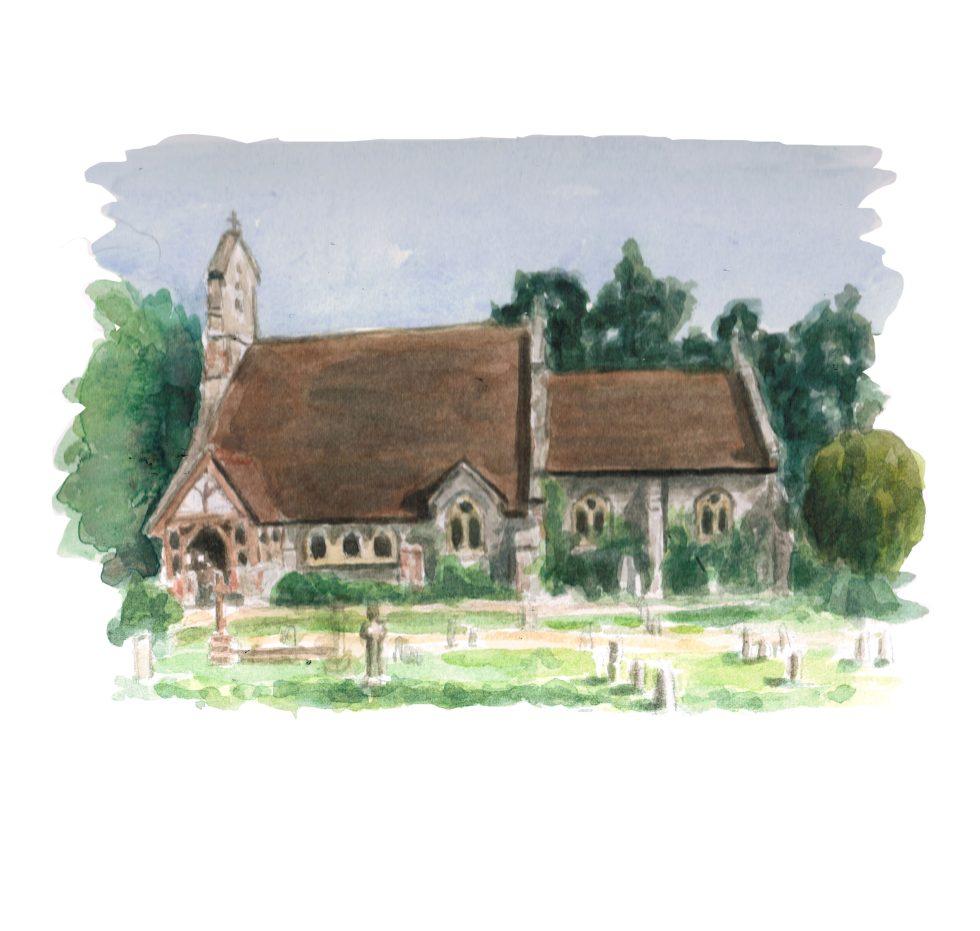 St Margaret's Church Halstead
