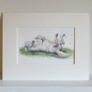 Welsh pony watercolour artwork for sale