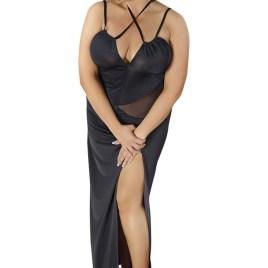 C/4002 schwarzes langes Kleid von Andalea Dessous