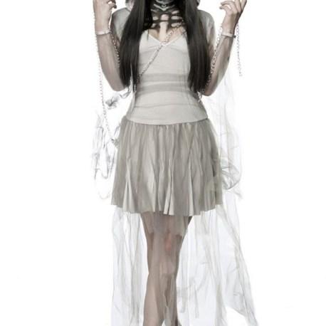 Skeleton Ghost Komplettset MASK PARADISE 80011  EAN: 4250738663312