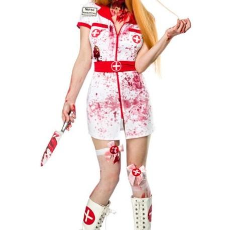 Zombie Nurse Komplettset MASK PARADISE 80015 4250738663503,4250738663510,