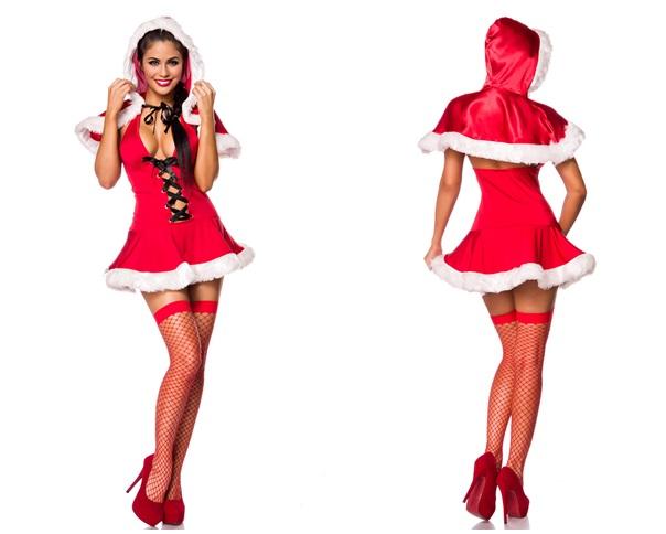 80017 Weihnachtskostüm Christmas Girl von MASK PARADISE