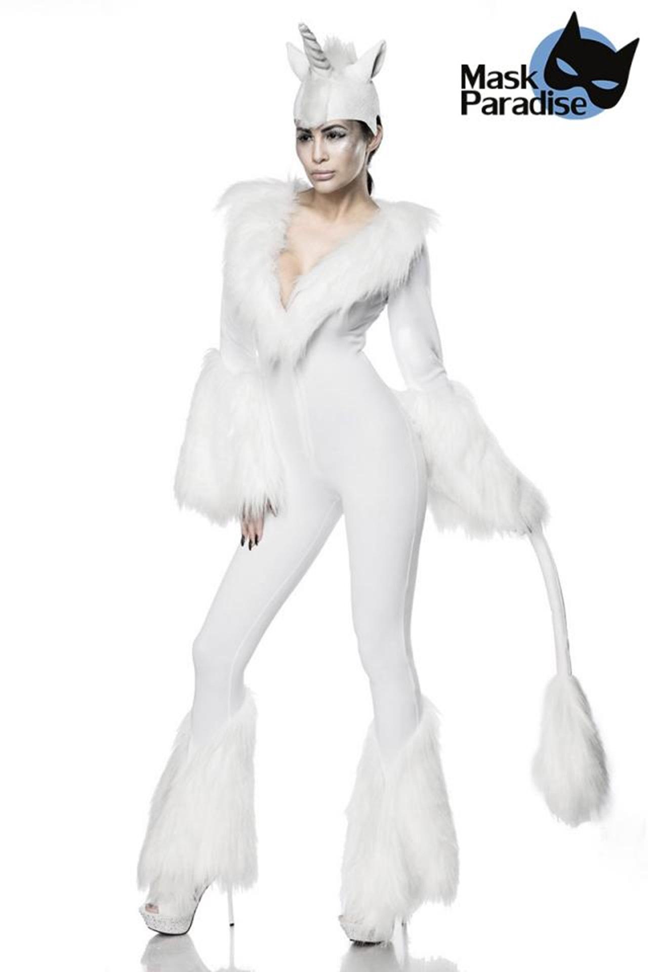 80059 Einhornkostüm White Unicorn von MASK PARADISE