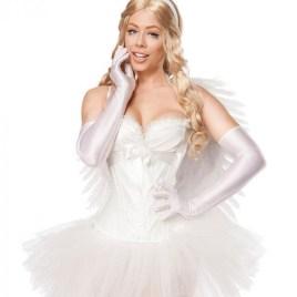 80096 Engelskostüm White Angel von MASK PARADISE