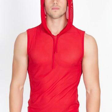 92-77 rotes V-Shirt Malibu von Look Me Dessous
