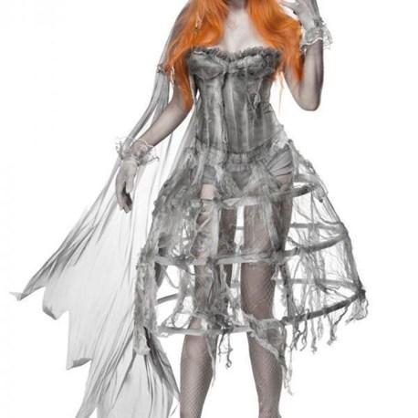 80076 Zombiekostüm Zombie Bride von MASK PARADISE EAN: 4251302111178