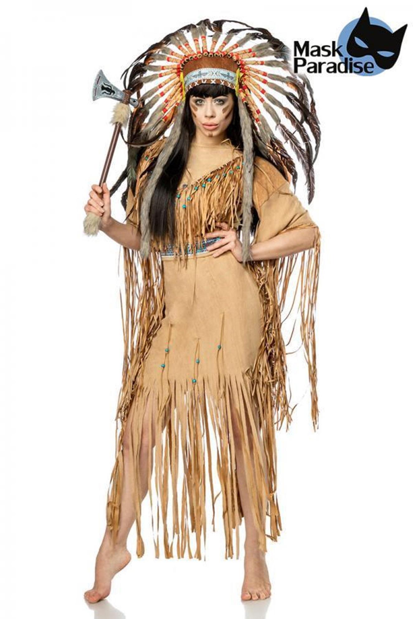 80108 Indianerinkostüm Native American von MASK PARADISE