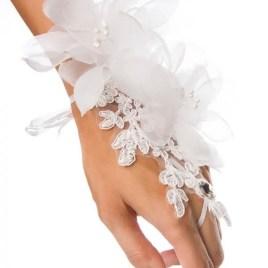 14400 floraler weißer Handschmuck